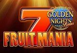 Fruitmania Golden Night Bonus