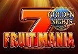 Fruitmania Golden Night Bonus